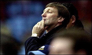 Former Derby manager Colin Todd
