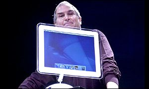 Apple CEO Steve Jobs unveils the iMac, Apple