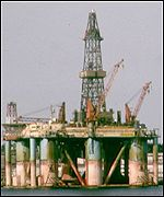 Norwegian oil-rig