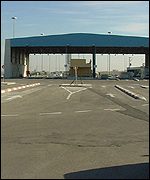 The Erez crossing between Israel and Gaza
