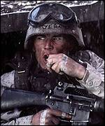 Josh Hartnett in Blackhawk Down