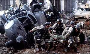 Shot from Blackhawk down