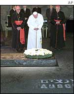 The Pope at Yad Vashem