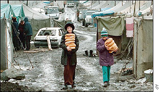 Chechen refugees
