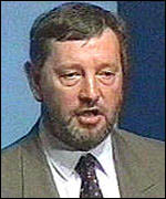 Home Secretary David Blunkett, BBC