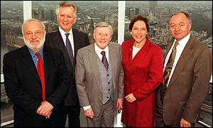 Jimmy Young and London's mayoral candidates in 2000