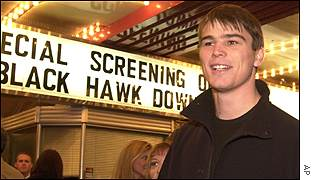 Josh Harnett stars in Black Hawk Down