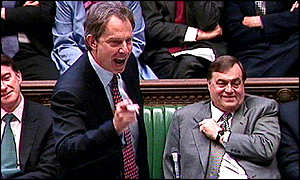 Tony Blair in the Commons