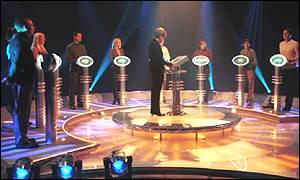 Celebrity edition of the weakest link (BBC)