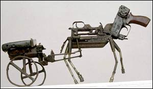 Sculpture of horse and cart   Christian Aid/Paul Hackett