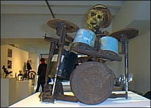 Drummer sculpture   A.Kirby