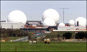 Menwith Hill communication centre, near Harrogate