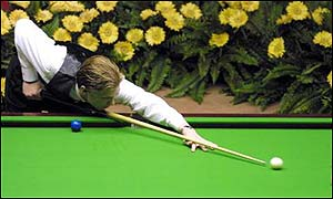 2001 - Paul Hunter is the current Benson and hedges champion