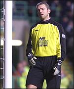 Keeper Alan Miller had a nightmare game