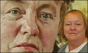 Mo Mowlam and portrait