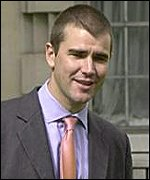 Mr Massow: Can no longer ignore a nagging voice in his head