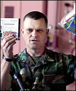 US military spokesman