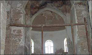 Church of Kanakaria in the northern Karpas peninsula once housed some of the most important works of early Christian art in the region