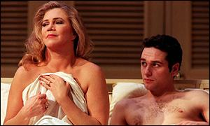 Kathleen Turner was the first Mrs Robinson in the show