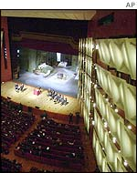A view of the new Arcimboldi theatre