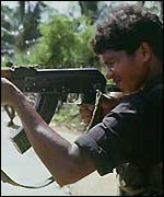 A Tamil Tiger rebel