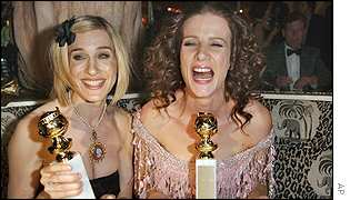 Sarah Jessica Parker and Rachel Griffiths