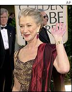 Helen Mirren lost out in the best supporting actress category
