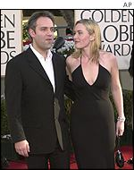 Kate Winslet arrived with boyfriend Sam Mendes