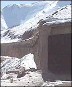Gallery at Salang Tunnel