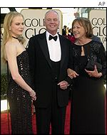 Nicole Kidman's parents accompanied her