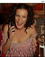 Rachel Griffiths was a surprise victor in the TV section