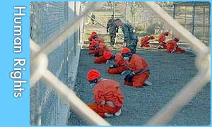 Prisoners at Camp X-Ray