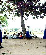 Children at Yombo Primary School