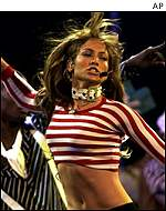 Jennifer Lopez  has toured extensively in Europe