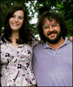 Peter Jackson with star Liv Tyler