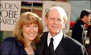 Ron Howard at the Golden Globes