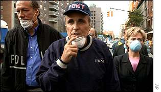 Mr Giuliani has been praised for his leadership