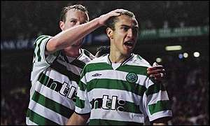 Larsson proved to be Celtic's match-winner once more
