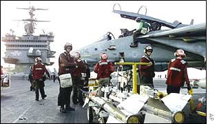 USS Enterprise, one of ship involved in attacks against Afghanistan