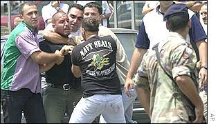 Arrest of Lebanese Christians