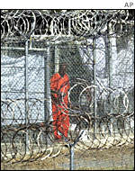Wire cells at Guantanamo