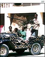 Gunmen in the Somali capital