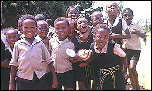 South African schoolgirls