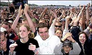 Glastonbury, June 2000