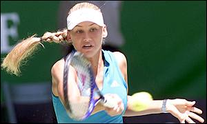 Kournikova has yet to win a Grand Slam title
