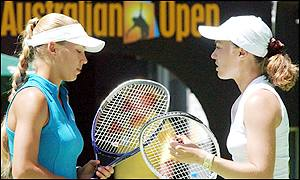 The pair split in 2000 after both were plagued by injury