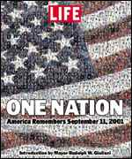 Life Magazine's edition following September 11