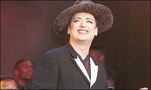 Boy George switched on Purple Radio
