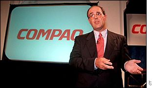 Compaq chief executive Michael Capellas