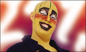 Lucas plays Leigh Bowery in Boy George's stage musical